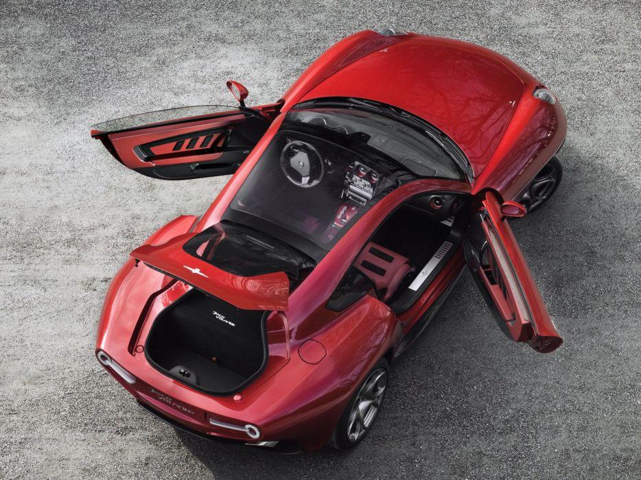 2014 Alfa Romeo Disco Volante supercar interior   g wallpaper