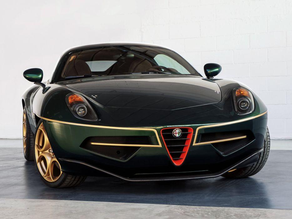 2014 Alfa Romeo Disco Volante supercar  nc wallpaper