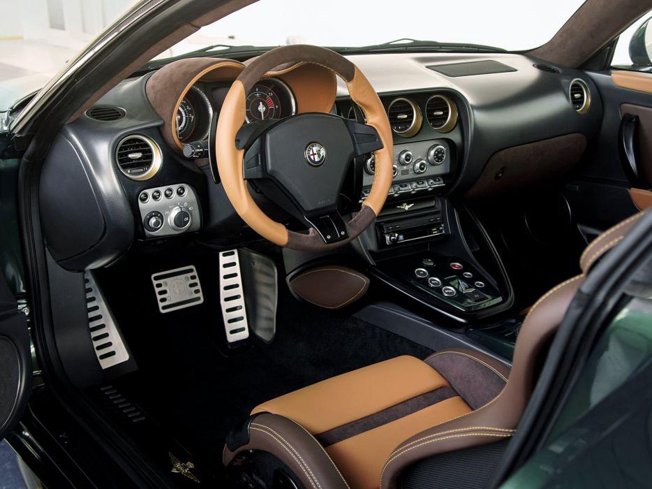 2014 Alfa Romeo Disco Volante supercar interior   gs wallpaper