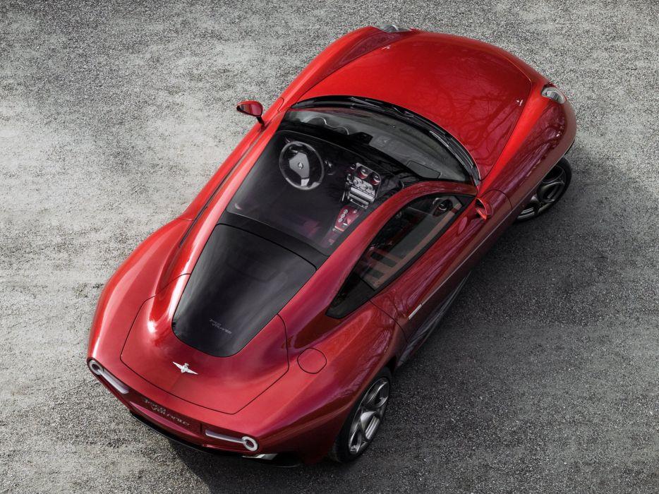 2014 Alfa Romeo Disco Volante supercar interior   f wallpaper