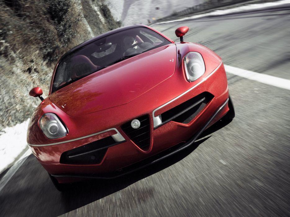 2014 Alfa Romeo Disco Volante supercar  h wallpaper