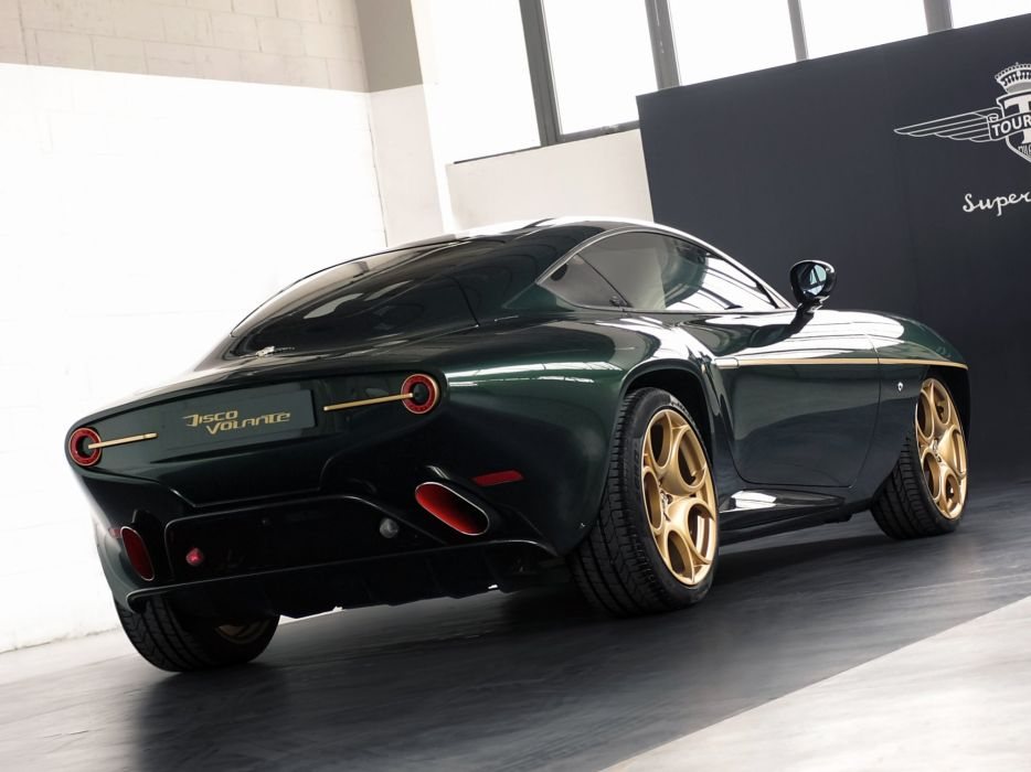 2014 Alfa Romeo Disco Volante supercar   hd wallpaper