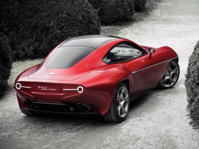 2014 Alfa Romeo Disco Volante supercar g wallpaper