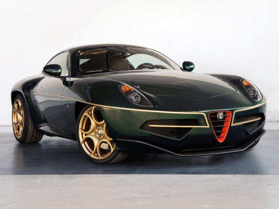 2014 Alfa Romeo Disco Volante supercar  n wallpaper