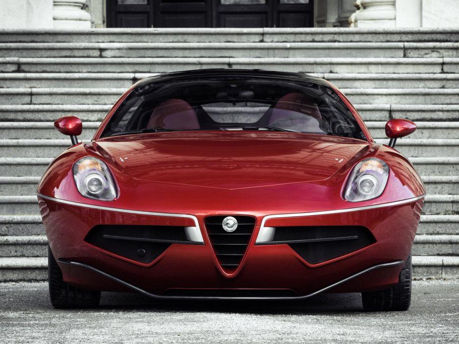 2014 Alfa Romeo Disco Volante supercar  f wallpaper