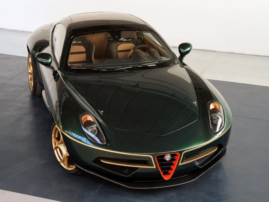 2014 Alfa Romeo Disco Volante supercar  h wallpaper