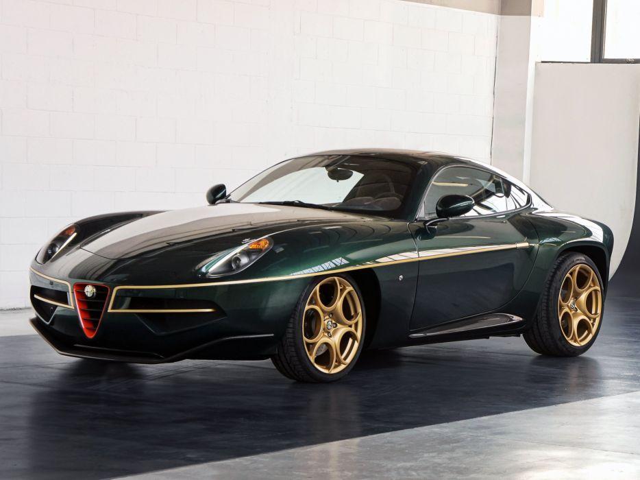 2014 Alfa Romeo Disco Volante supercar  gd wallpaper