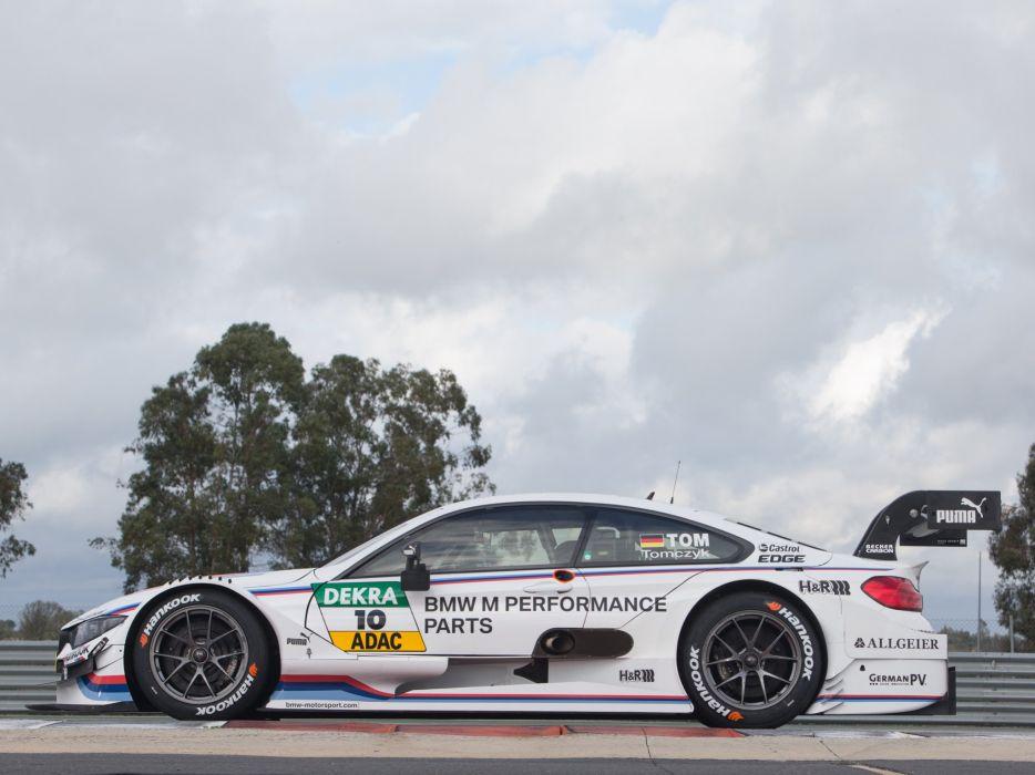 2014 BMW M-4 DTM F82 race racing d wallpaper
