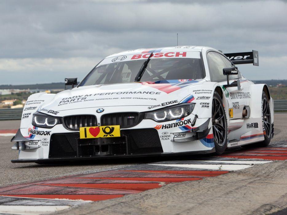 2014 BMW M-4 DTM F82 race racing  f wallpaper