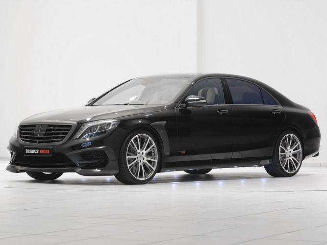 2014 Brabus Mercedes Benz S63 AMG W222 tuning luxury v wallpaper