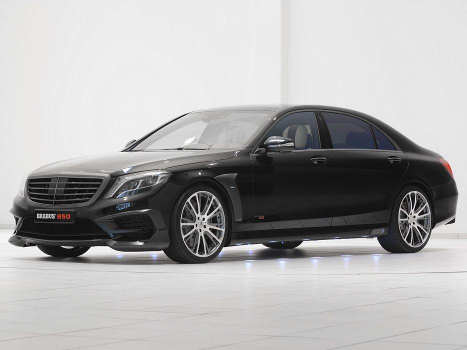 2014 Brabus Mercedes Benz S63 AMG W222 tuning luxury v wallpaper