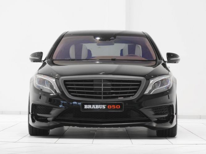 2014 Brabus Mercedes Benz S63 AMG W222 tuning luxury h wallpaper