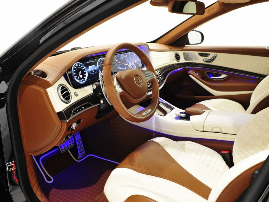 2014 Brabus Mercedes Benz S63 AMG W222 tuning luxury interior  j wallpaper
