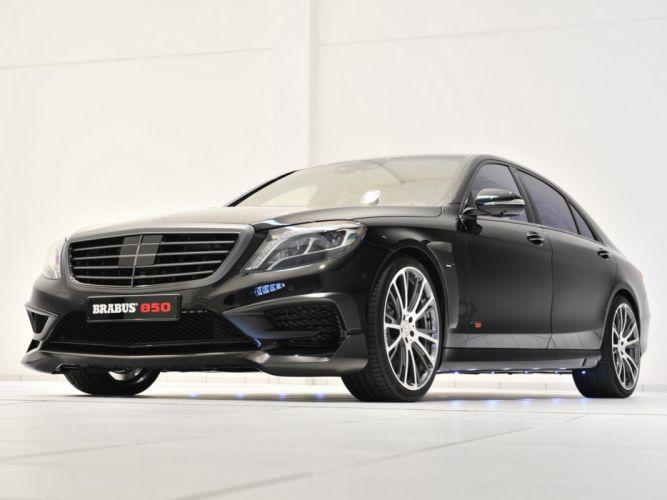 2014 Brabus Mercedes Benz S63 AMG W222 tuning luxury g wallpaper