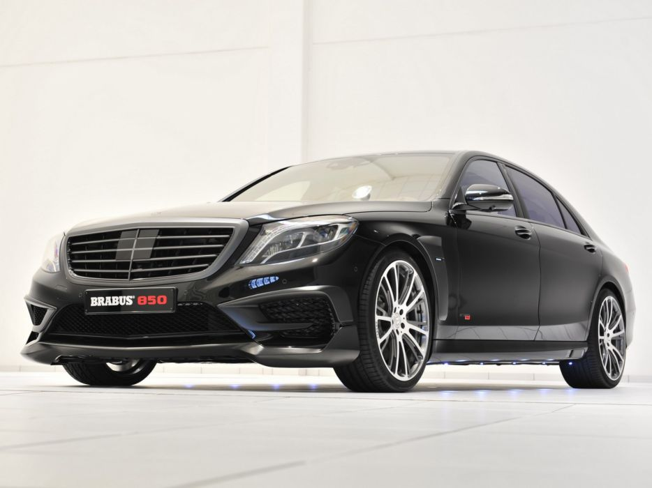 2014 Brabus Mercedes Benz S63 AMG W222 tuning luxury  g wallpaper