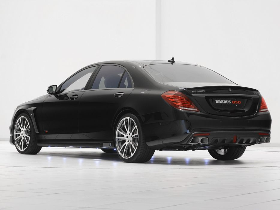 2014 Brabus Mercedes Benz S63 AMG W222 tuning luxury  f wallpaper