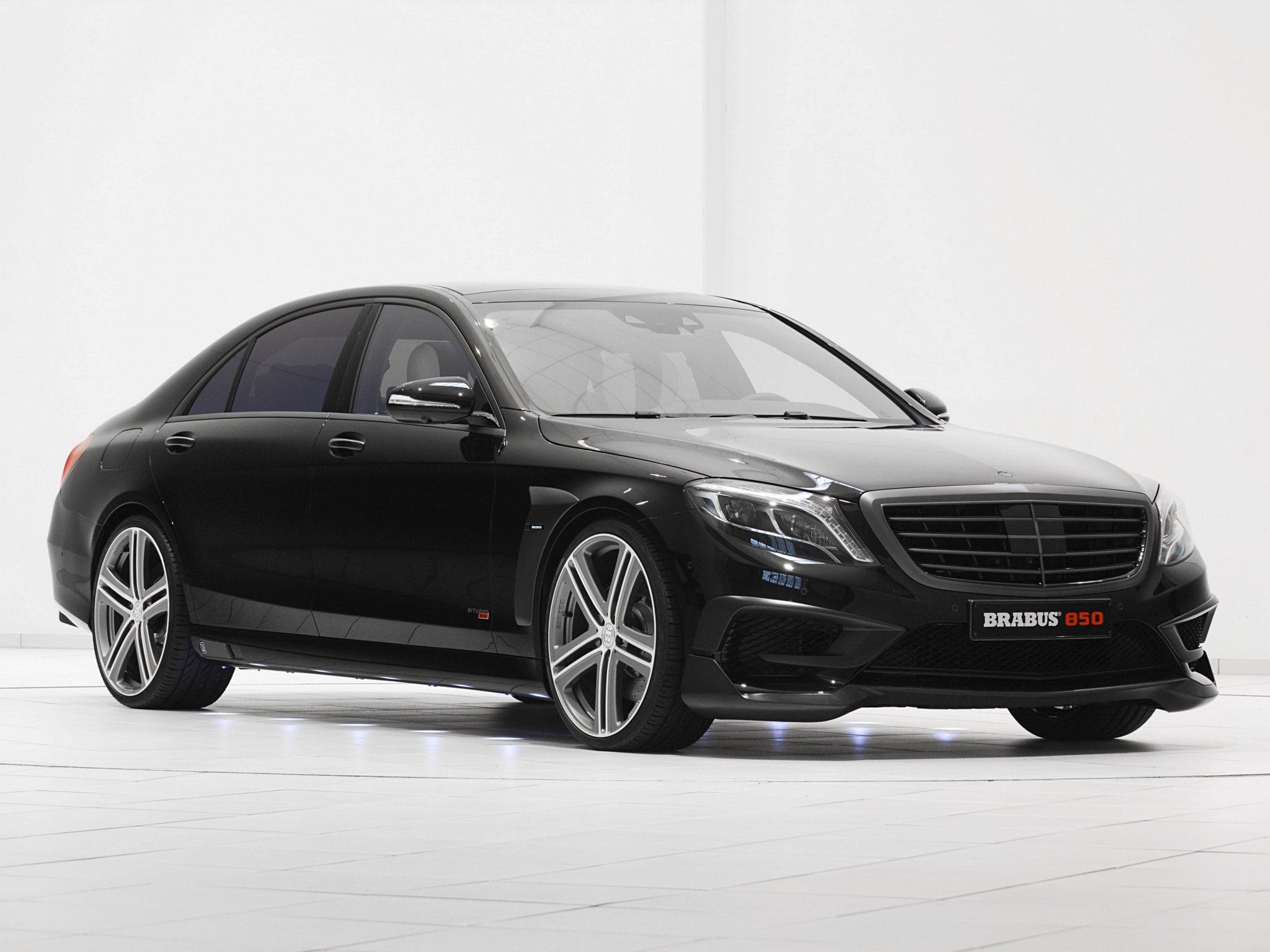 S 63 Amg Wallpaper: 2014 Brabus Mercedes Benz S63 AMG W222 Tuning Luxury F