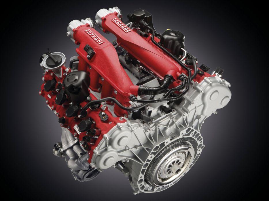 2014 Ferrari California T supercar california-t engine          g wallpaper