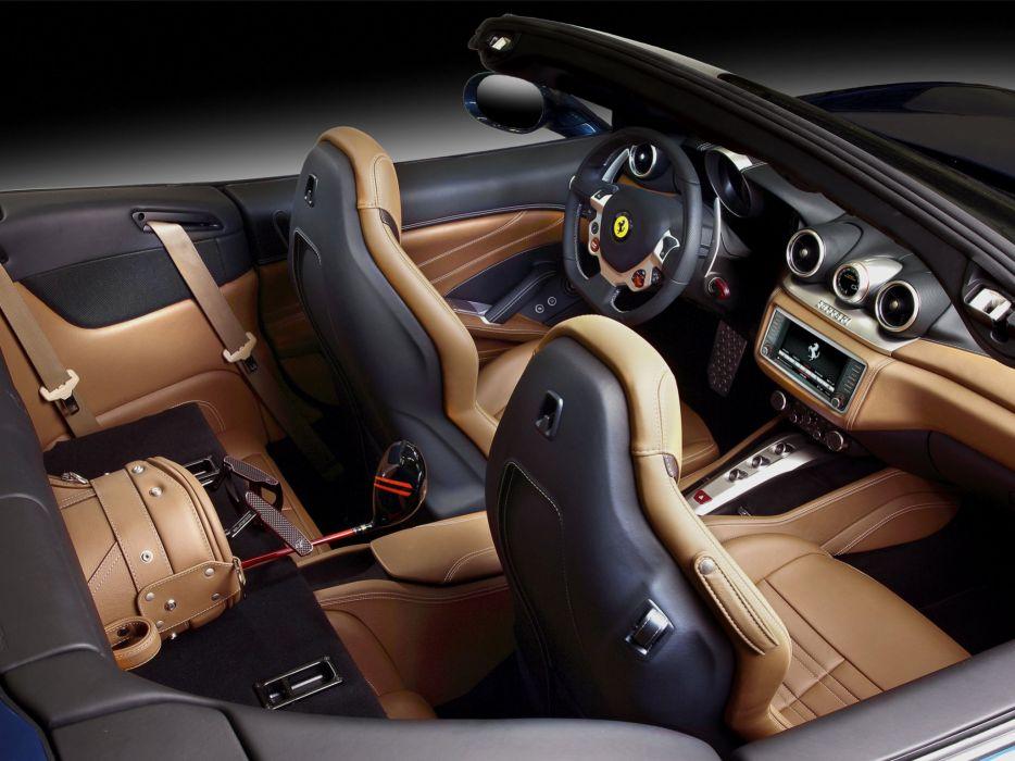 2014 Ferrari California T supercar california-t interior    r wallpaper