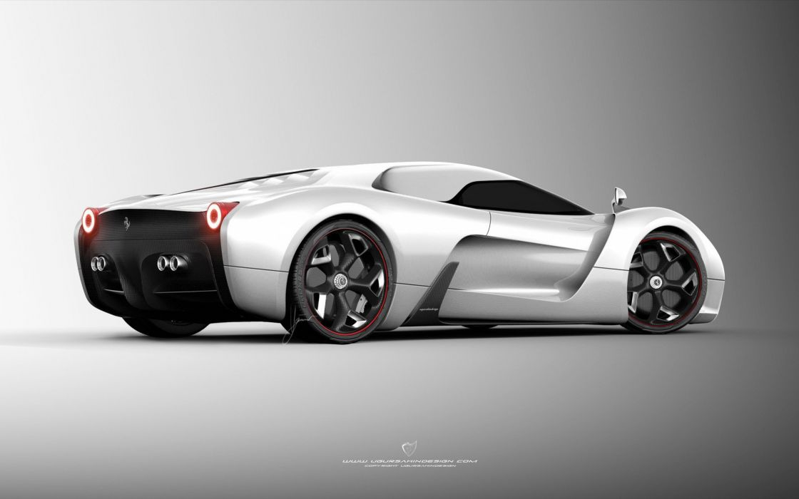 2014 Ferrari F-6 Concept supercar   y wallpaper