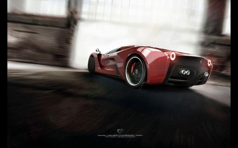 2014 Ferrari F-6 Concept supercar n wallpaper