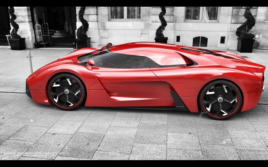 2014 Ferrari F-6 Concept supercar g wallpaper