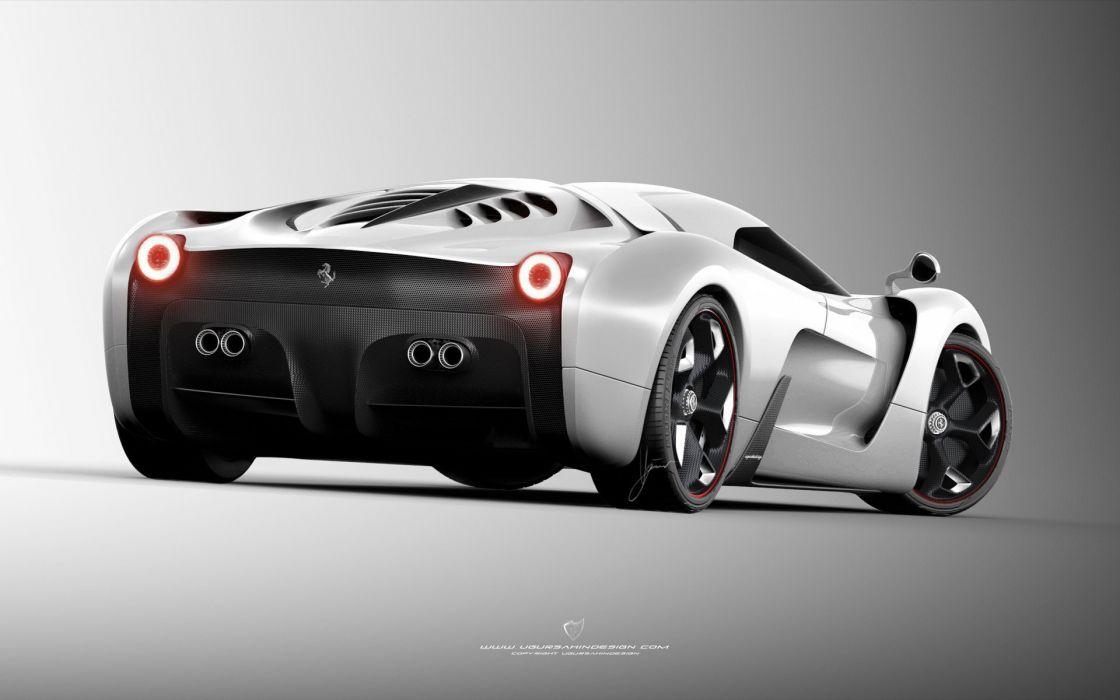 2014 Ferrari F-6 Concept supercar b wallpaper