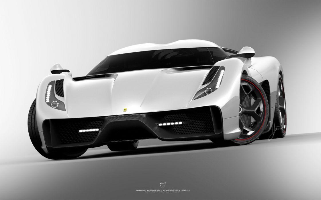 2014 Ferrari F-6 Concept supercar t wallpaper