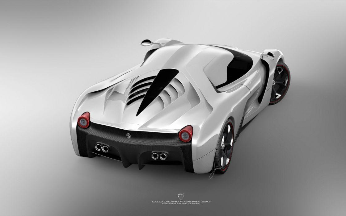 2014 Ferrari F-6 Concept supercar m wallpaper