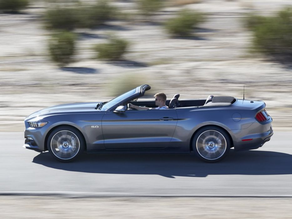 2014 Ford Mustang G T Convertible Muscle G Wallpaper 2048x1536