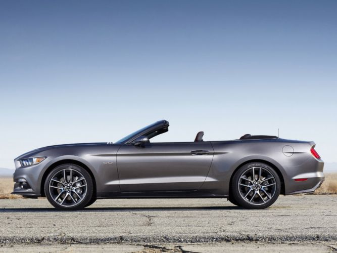 2014 Ford Mustang G-T Convertible muscle h wallpaper