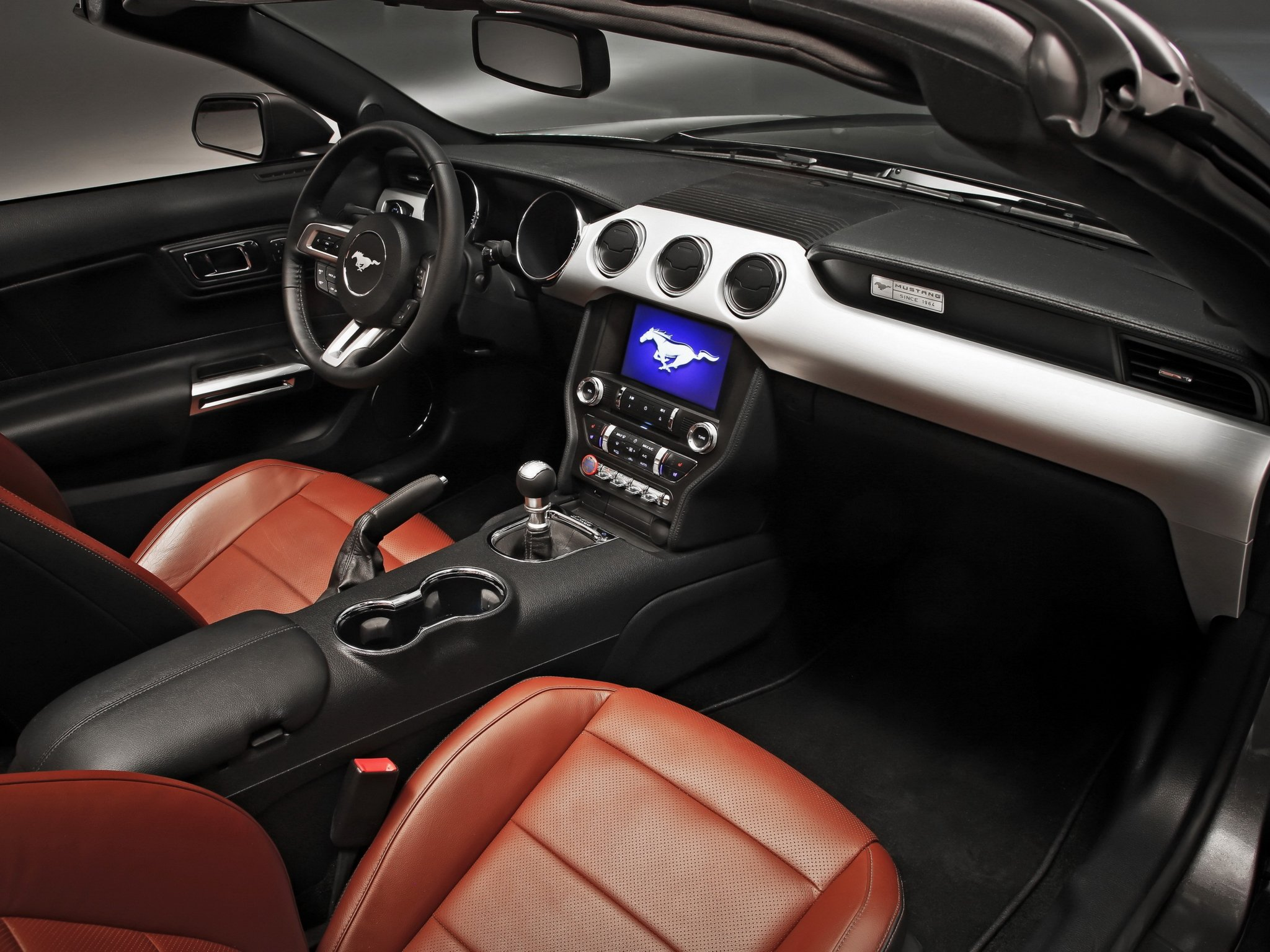 2014 Ford Mustang G T Convertible Muscle Interior G Wallpaper 2048x1536 287689 Wallpaperup
