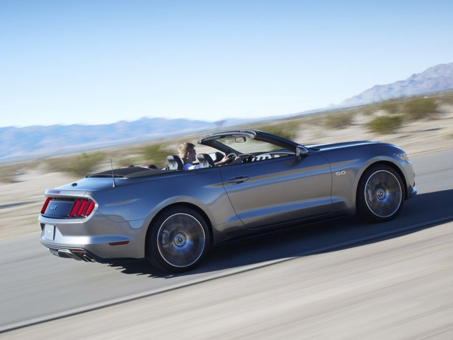 2014 Ford Mustang G-T Convertible muscle  j wallpaper