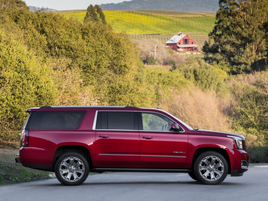 2014 GMC Yukon X-L Denali suv stationwagon   f wallpaper