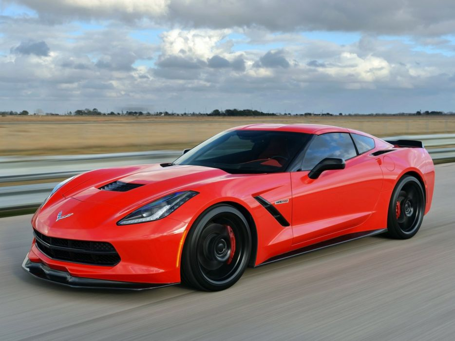 2014 Hennessey Chevrolet Corvette Stingray HPE700 Twin Turbo C-7 supercar muscle sting ray  j wallpaper