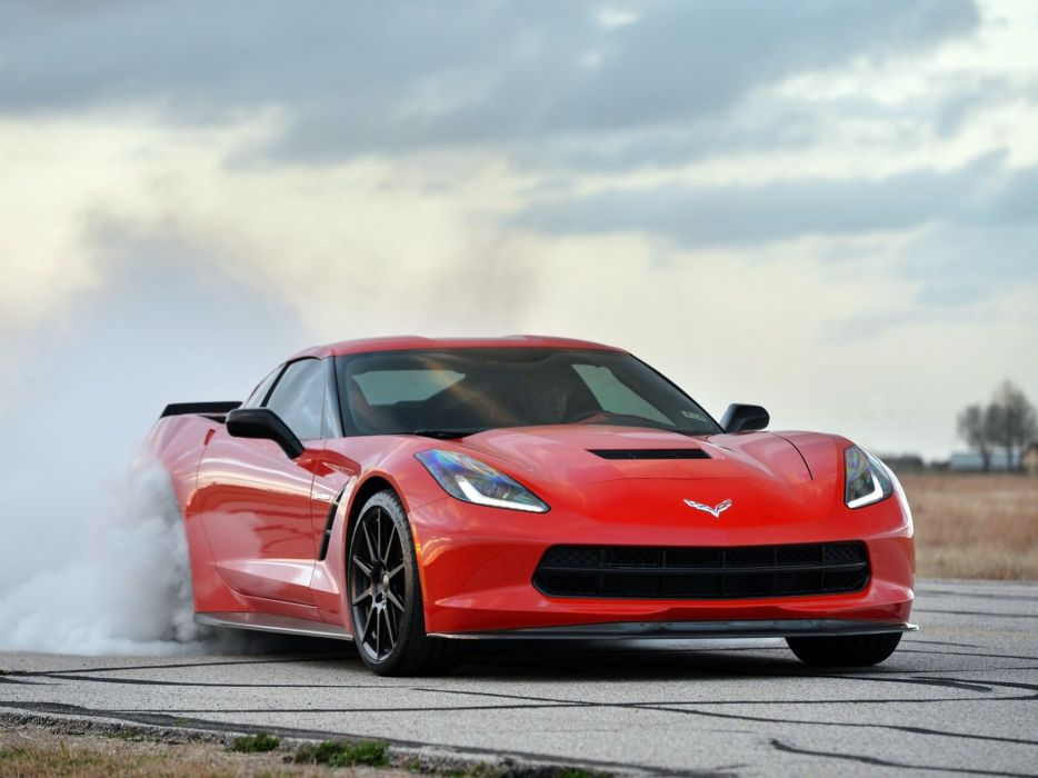 2014 Hennessey Chevrolet Corvette Stingray HPE700 Twin Turbo C-7 supercar muscle sting ray     g wallpaper