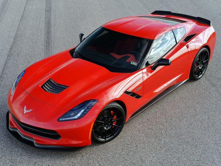 2014 Hennessey Chevrolet Corvette Stingray HPE700 Twin Turbo C-7 supercar muscle sting ray    jj wallpaper