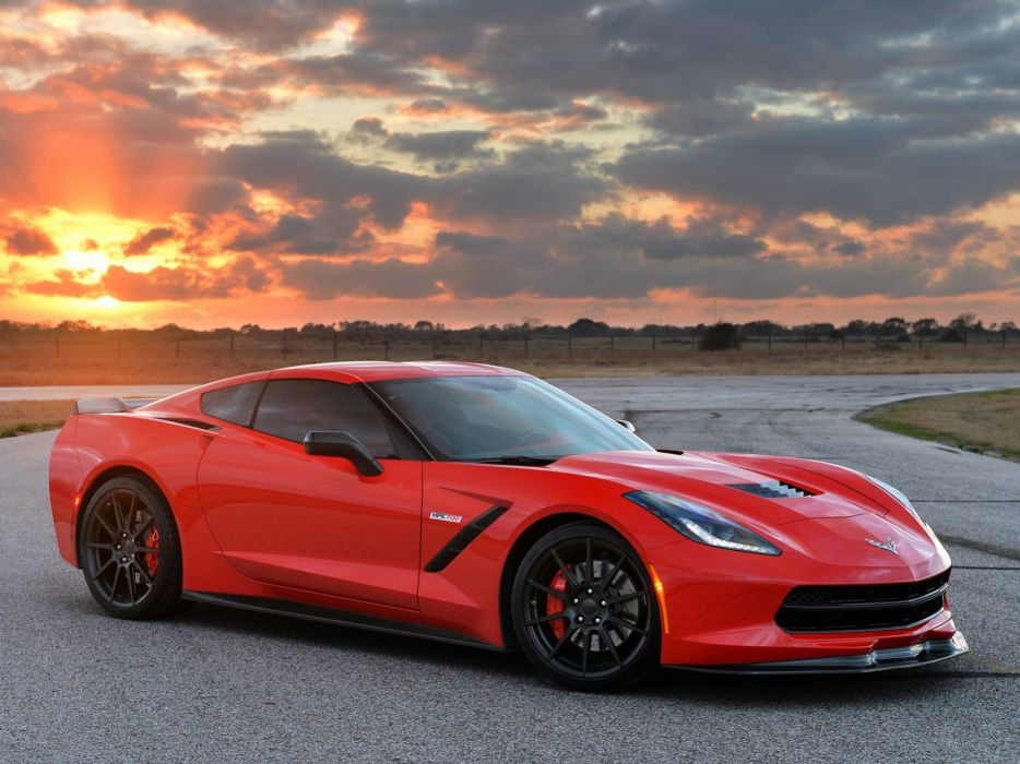 2014 Hennessey Chevrolet Corvette Stingray HPE700 Twin Turbo C-7 supercar muscle sting ray  h wallpaper