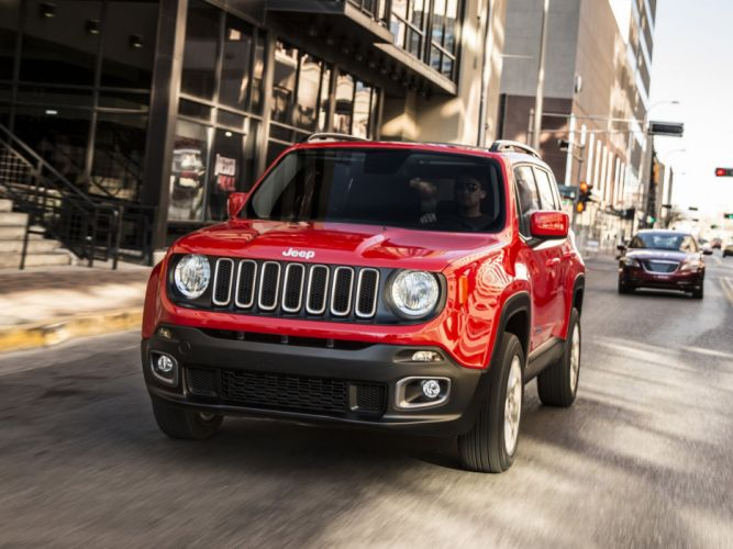 2014 Jeep Renegade Latitude 4x4 suv g wallpaper
