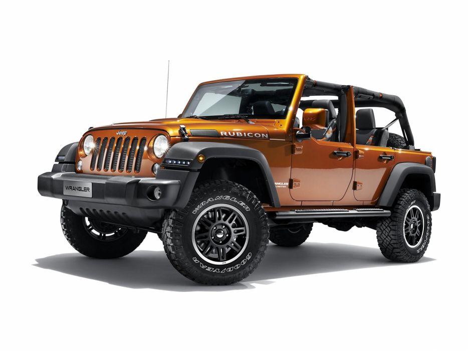 2014 Jeep Wrangler Unlimited Rubicon Moparized 4x4    h wallpaper