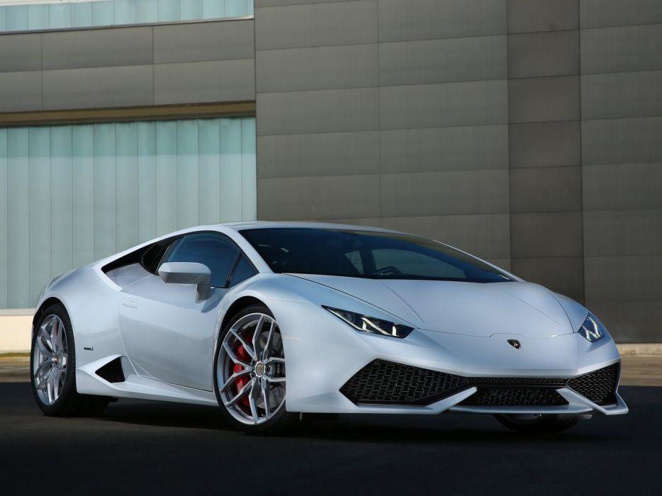 2014 Lamborghini Huracan LP610-4 supercar   d wallpaper