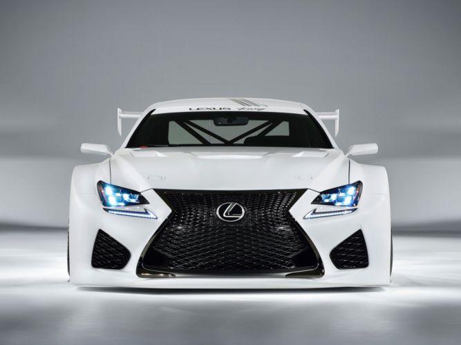 2014 Lexus RC-F GT3 Concept race racing f wallpaper