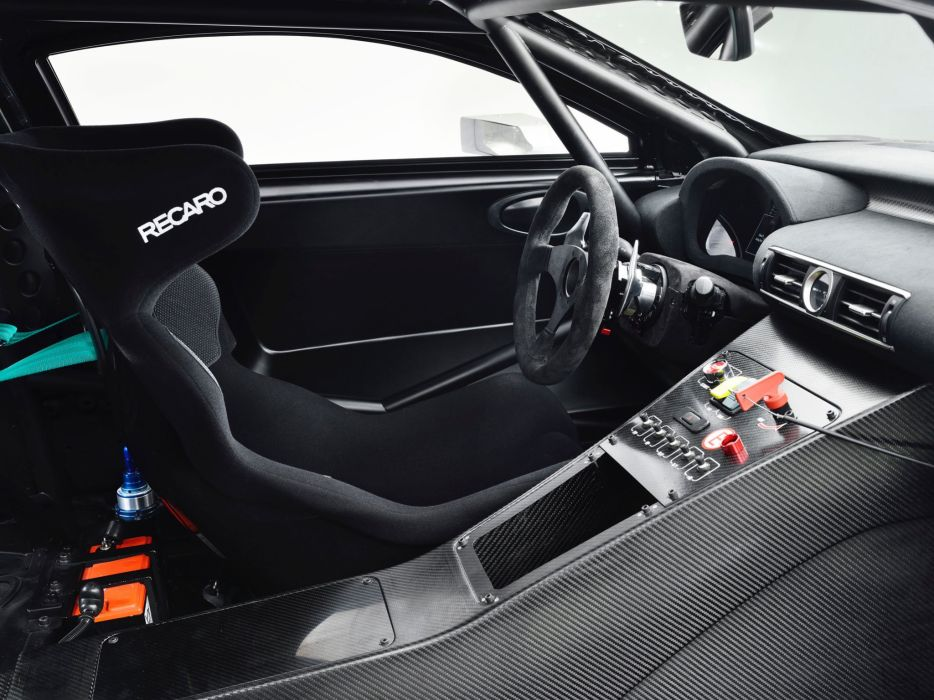 2014 Lexus RC-F GT3 Concept race racing interior    g wallpaper