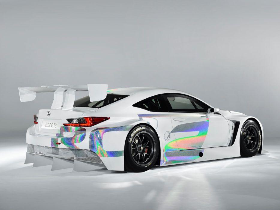 2014 Lexus RC-F GT3 Concept race racing  h wallpaper