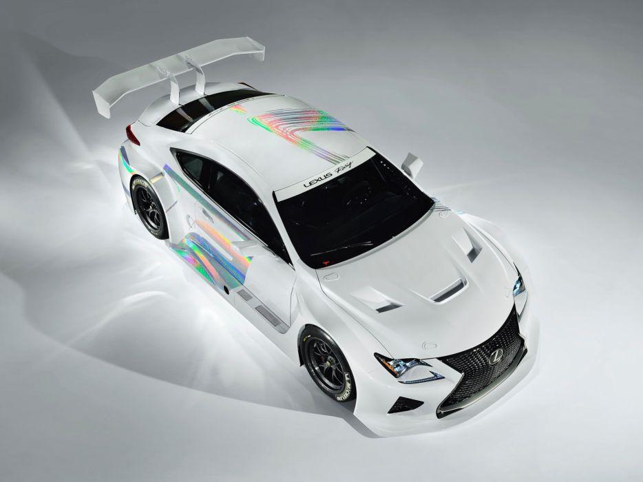 2014 Lexus RC-F GT3 Concept race racing  je wallpaper