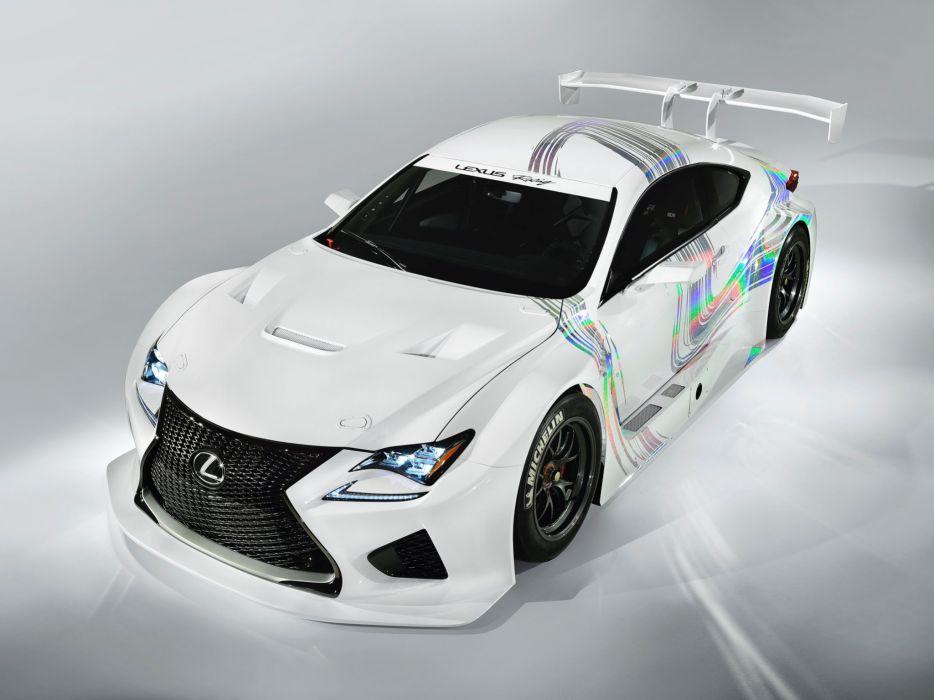 2014 Lexus RC-F GT3 Concept race racing  jf wallpaper