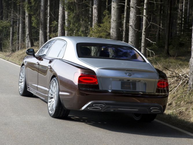 2014 Mansory Bentley Continental Flying Spur luxury g wallpaper