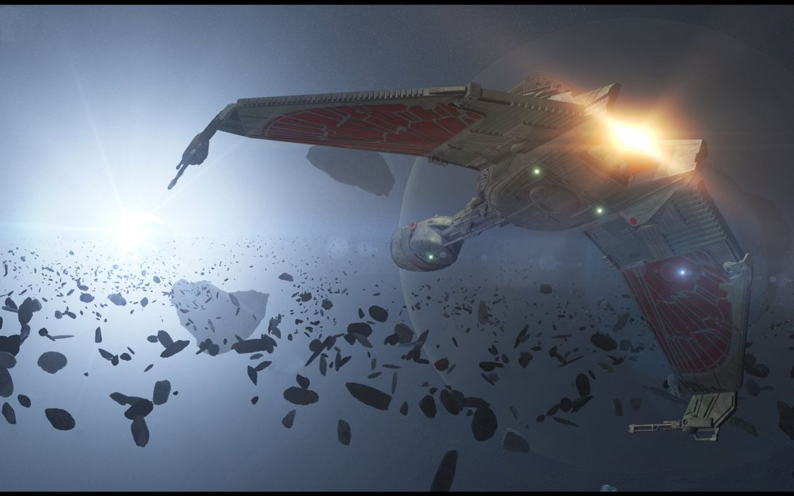 Star Trek KlingonBird OfPrey freecomputerdesktopwallpaper 1680 wallpaper
