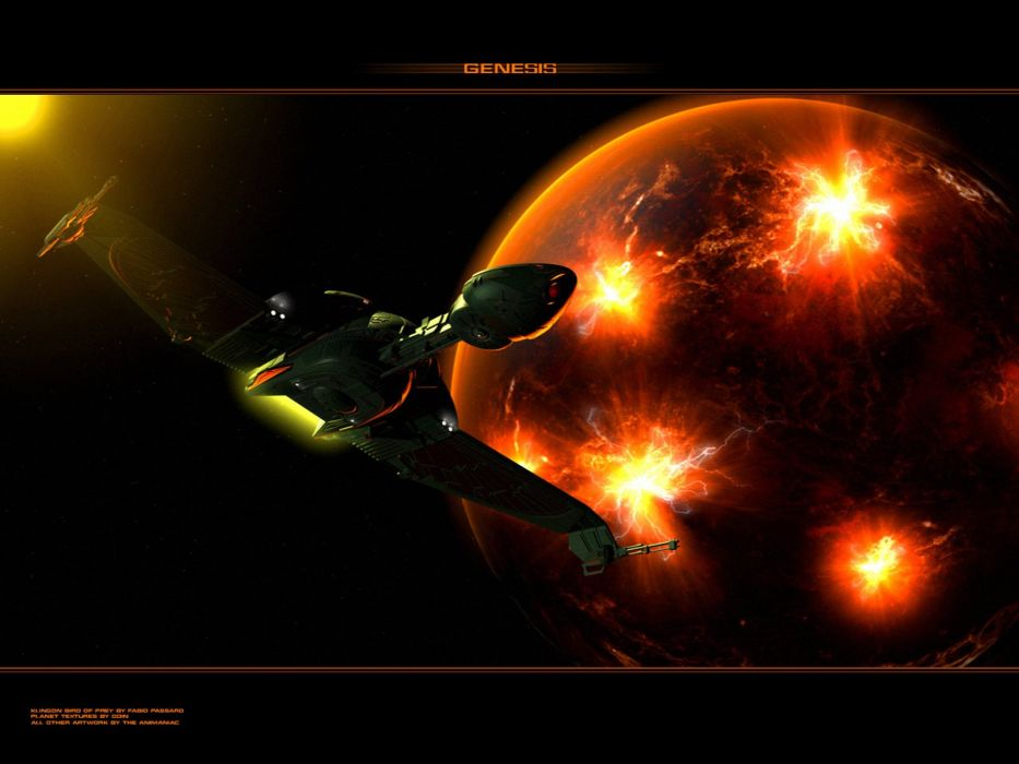 Star Trek Klingon Bird Of Prey freecomputerdesktopwallpaper 1600 wallpaper