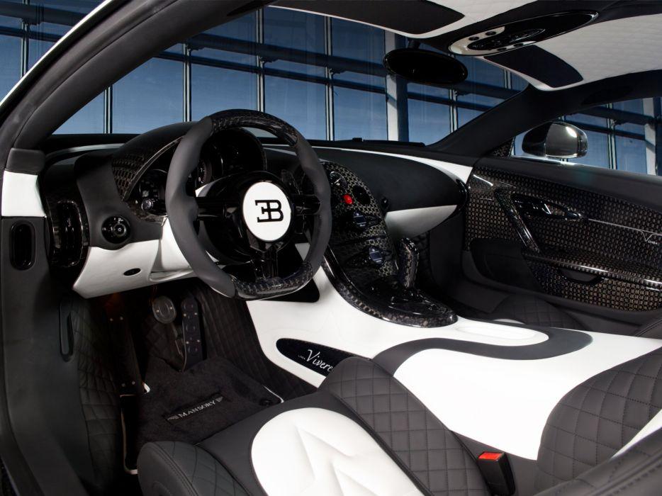 2014 Mansory Bugatti Veyron Vivere supercar interior    f wallpaper